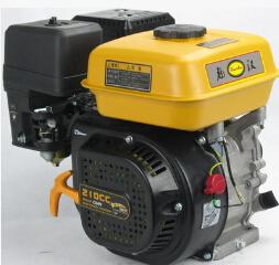 水平轴汽油发动机
