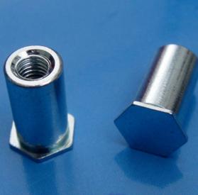 【厂家】压铆螺母柱BSO/SO六角压铆螺柱 螺栓 碳钢规格齐全可订做