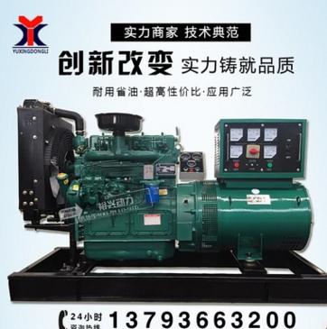 30kw发电机组 全铜有刷电机里卡多柴油 三项养殖场备用 厂家直销 举报