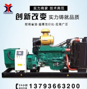 柴油发电机组 300kw 潍坊斯太尔全新 三相交流发电机
