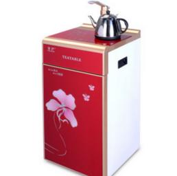 红色家用立式饮水机制热直饮水机沸腾即热茶吧机批发