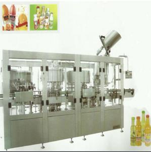 全自动果肉饮料灌装机