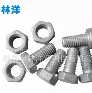 供应热镀锌国标六角螺栓 GB789六角螺丝