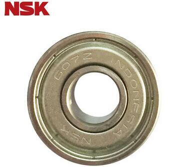 深沟球NSK轴承 607ZZ单列深沟球轴承 不锈钢密封轴承
