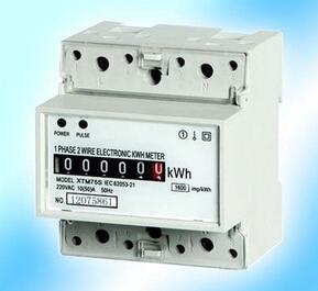 【3.6采购节】特价批发导轨式单相电表 XTM35S 电能仪表