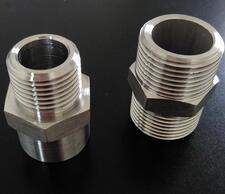 江苏定制 BGJ汽配机械不锈钢管接头 高质量对丝接头 螺丝接头