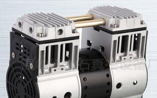 微型气泵 无油静音 活塞式真空泵机电设备限-92KPA免维护HP2000V