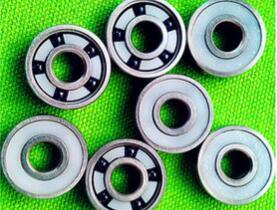 陶瓷轴承五个球 608轮滑轴承 滑板专用不锈钢高速 无阻力 轴承