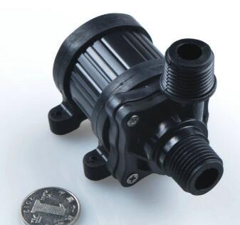 6米24V家用加压水冷暖气空调循环直流无刷潜水泵 隔膜泵 抽油泵 水族潜水泵