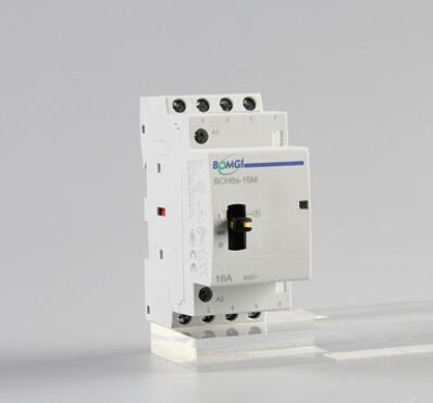 厂家现货 家用接触器 BCH8系列 16A 20A 25A 3P/4P M 模数化接触