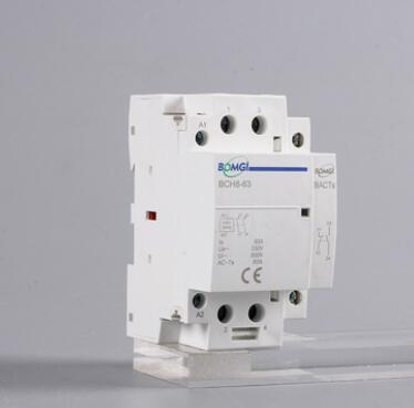 小型家用接触器 220V 32A 40A 63A 2P 1NO1NC+辅助触头