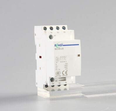厂家供应 模数化低压接触器 16A 20A 25A 3P/4P 1NO1NC 小型家用