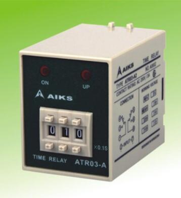 AH3和ST3P换代产品香港爱克斯/AIKS时间继电器ATR03-A3
