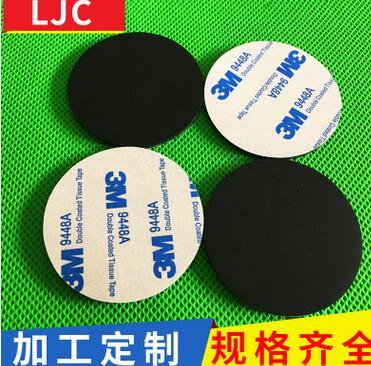 圆形硅胶垫脚批发 防震防水硅胶垫自粘 硅胶防滑硅胶垫生产厂家