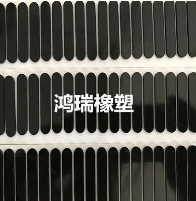 供应透明硅胶垫圈 黑色防滑硅胶脚垫 自粘硅胶垫圈 彩色硅胶垫片