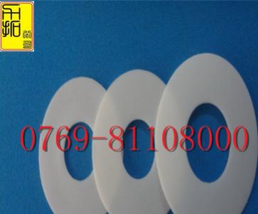 白色铁氟龙垫片橡胶复合垫片定做 铁氟龙绝缘垫片加工硅胶制品