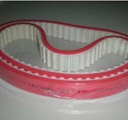 加红胶聚氨酯同步带 可加工定制 厂家直销