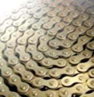 本公司专业生产双节距滚子链条,摩托车链条 工业链条0