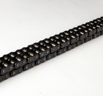 厂家销售大量短节距精密滚子链 双排滚子链 套筒连 不锈钢链条 大滚