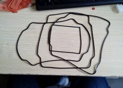 【厂家直销】防水硅橡胶密封件硅胶橡胶终端防水条
