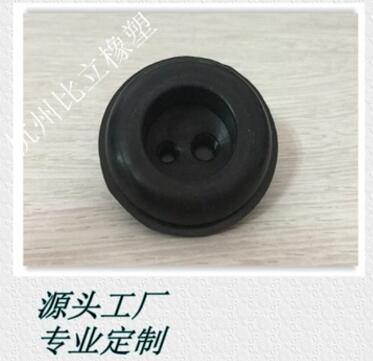 照明专用硅胶双孔穿线环 硅胶束线圈 双孔束线环