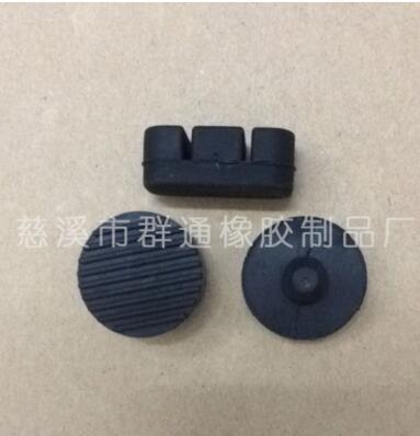黑色圆形防晒工业用橡胶丙橡胶板 环保型橡胶垫 防滑橡胶垫片