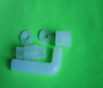 专业定做 白色食品级高品质硅胶管 硅胶弯管接头 足浴器硅胶管