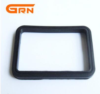 宁波 60*40*5橡胶垫 硅胶垫 密封圈 长方形卡槽式密封垫