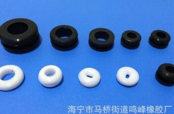 【厂家直供】橡胶护线圈,耐高温硅胶护线套,订做防尘护线环