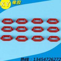 【厂家供应】高品质汽车接插件红色硅胶密封圈专业定制硅胶密封圈