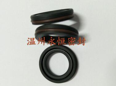 优质旋转四氟油封无骨架油封耐腐蚀耐磨适合高速旋转
