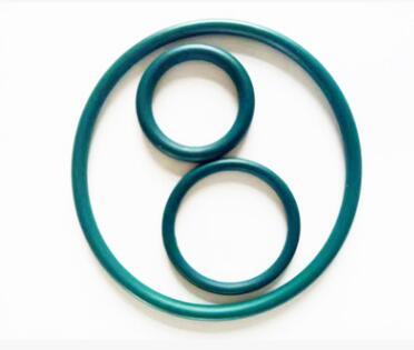 定做密封圈喷涂四氟涂层 耐腐蚀O型圈涂层氟橡胶O型圈 深绿色