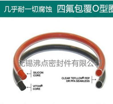 厂价直销 耐酸碱耐高温O-RING 四氟PTFE包覆O型圈 包四氟O形圈