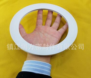 聚四氟乙烯PTFE填充玻璃纤维垫片 φ72*φ45*6mm φ52*φ40*6mm