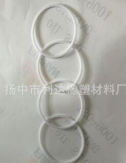厂家直销优质四氟挡圈尼龙挡圈四氟导向带四氟垫片等机械密封环