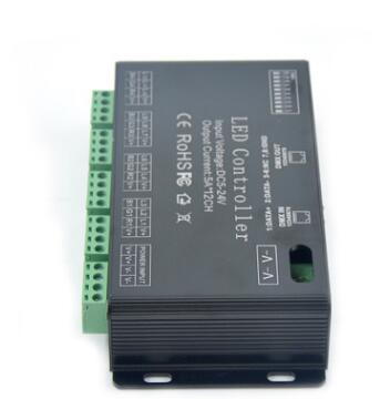 DMX恒压解码器12通道 12CH DMX控制多通道DMX控制器DMX解码器现货