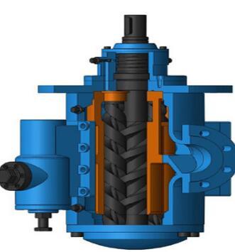 安徽永骏 SNK40--SNK2900 悬挂式三螺杆泵 稀油站润滑系统螺杆泵