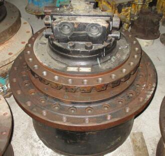 行走马达总成 原厂神钢SK450-3行走马达总成 挖机配件