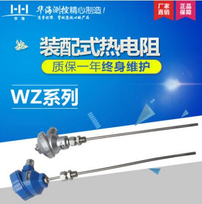 装配式热电阻WZP-PT100 温度传感器工业锅炉供暖耐高温耐腐蚀