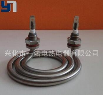 厂家生产 非标定制 蚊香式电加热管 圆盘型电加热管 干烧电热管