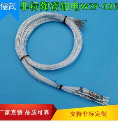 温度传感器热电阻 WZP-0350非标陶瓷铂电阻 厂家直销