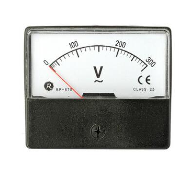 瑞升指针表盘面仪表BP-670交直流电压电流表频率表BP-80