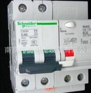 施耐德漏电保护器、断路器C65N 2P63A 现货