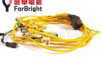 6261-81-8910小松PC650-8发动机线束