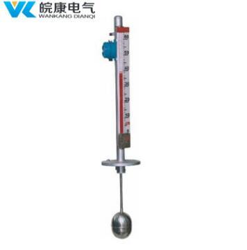 不锈钢磁翻板液位计耐腐防爆直观侧装高温远传顶装磁翻板液位计