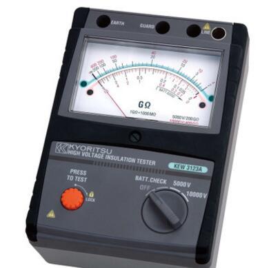 日本共立 绝缘电阻测试仪KEW 3121A3122A/3123A高压10000V 5000V