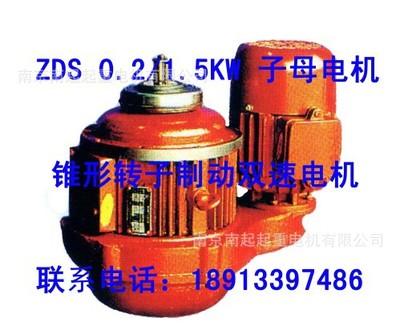 南京江陵电机 ZDS 0.2/1.5 KW 双速子母电机