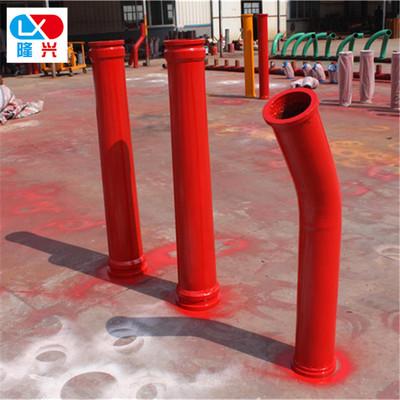 泵车堆焊超耐磨变径管 铰链弯管二号弯管通铺高铬变径管出口弯管