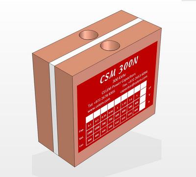 CSM300N电力电容器 冷却高频传导 CELEM电容 高频谐振电容批发