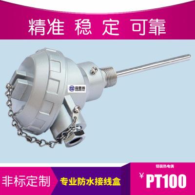 工厂高温高精度 K型铠装热电偶 PT100温度传感器